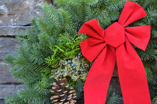 Christmas Wreath Care