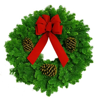 Read more: Noble Fir Classic Wreath