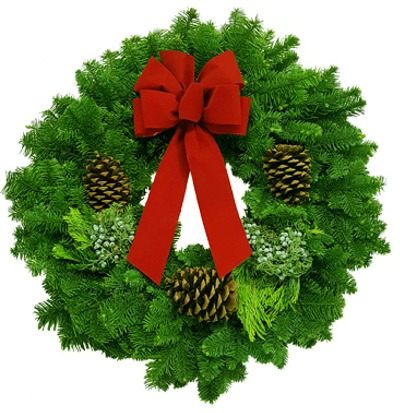 Read more: Noble Fir Mix Christmas Wreath